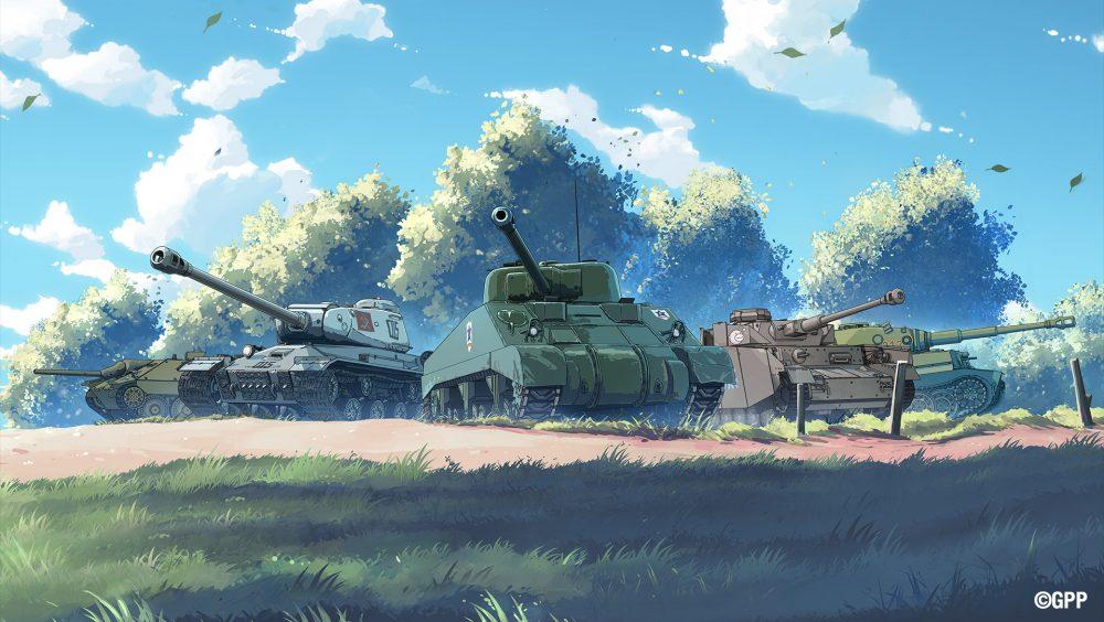 Girls und Panzer Vehicles