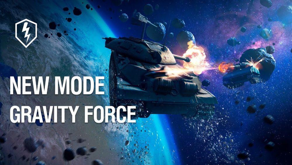World of Tanks Blitz Gravity Force Mode