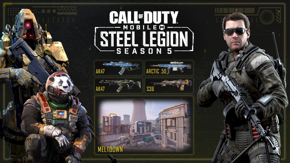 Call Of Duty Mobile Season 5 Steel Legion Out Now Invision