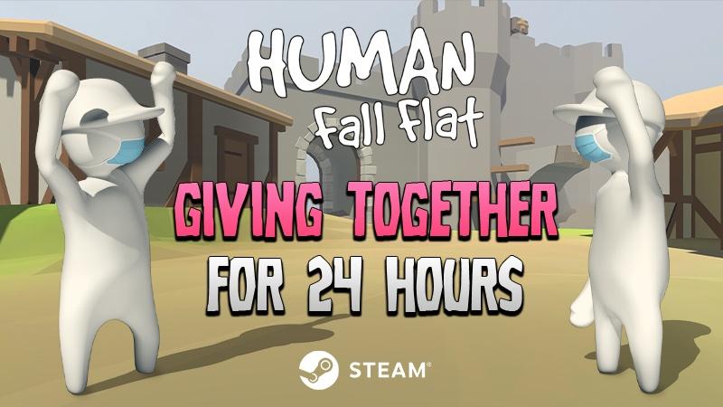 24 Hour Human Fall Flat Charity Sale