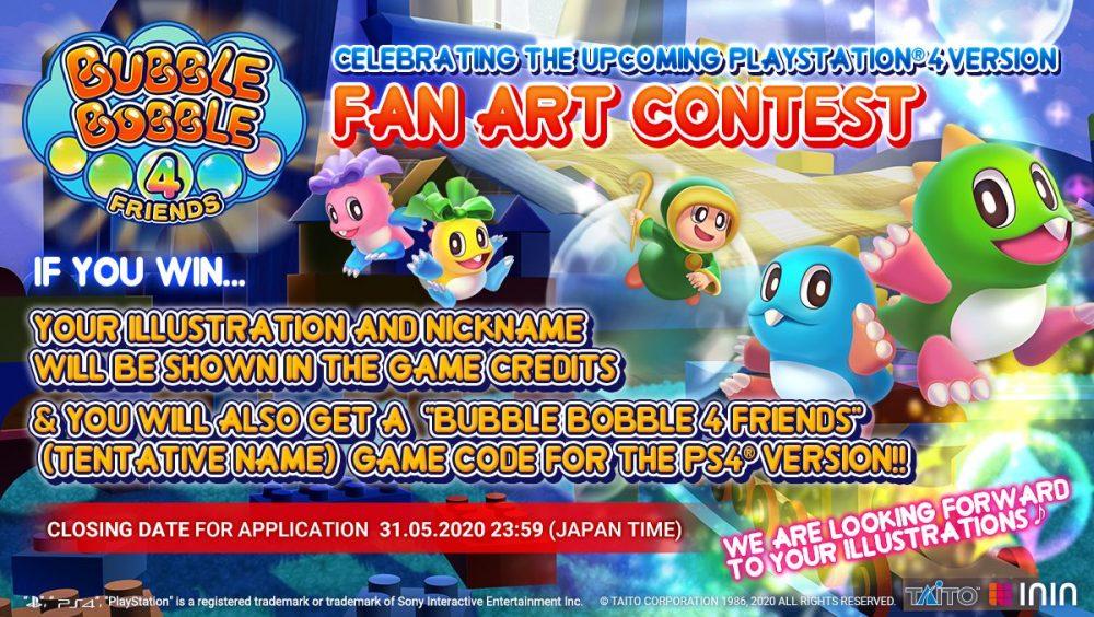 Bubble-Bobble-4-Friends_Fan Art Contest