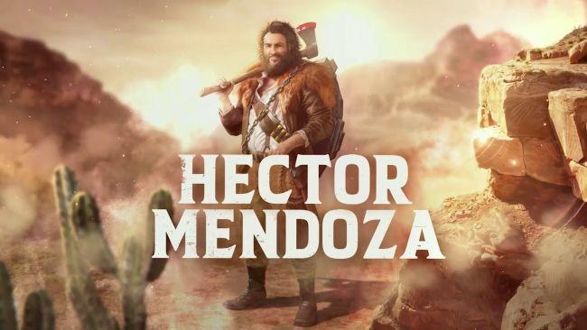 Hector Mendoza stars in new Desperados III