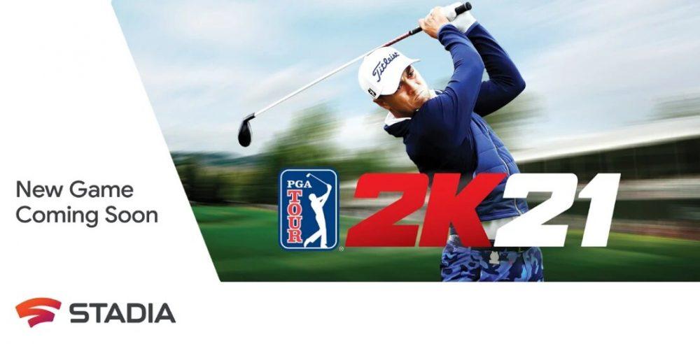 PGA TOUR 2K21 stadia