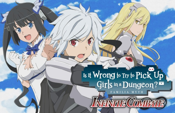 Is It Wrong To Try To Pick Up Girls In A Dungeon Infinite Combate