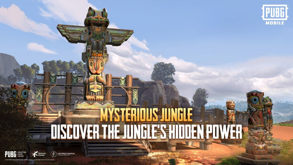 PUBG MOBILE Mysterious Jungle