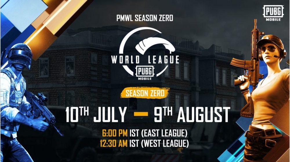 PUBG MOBILE, World League Season Zero
