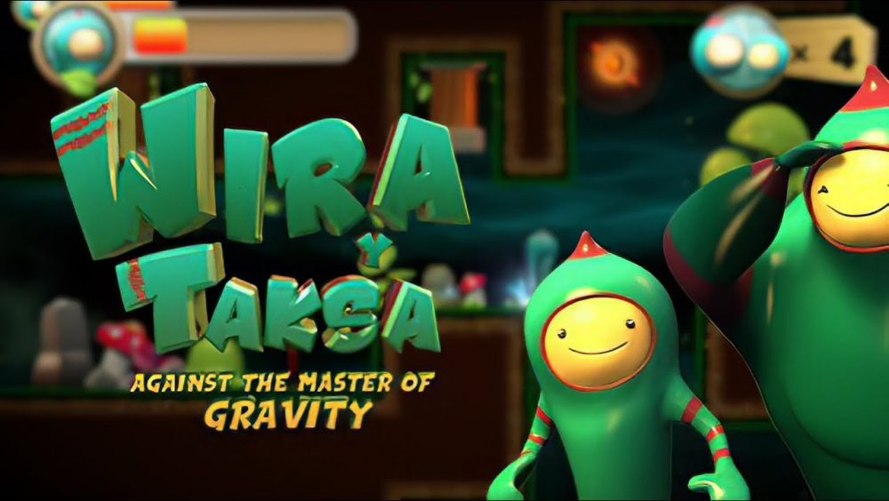 Wira & Taksa Against the Master of Gravity