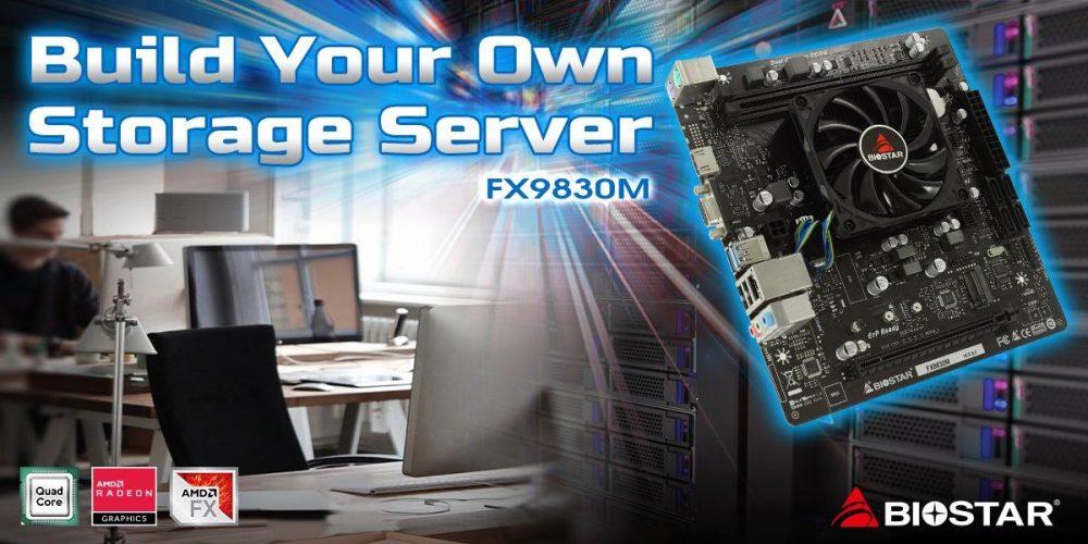 FX9830M SoC motherboard