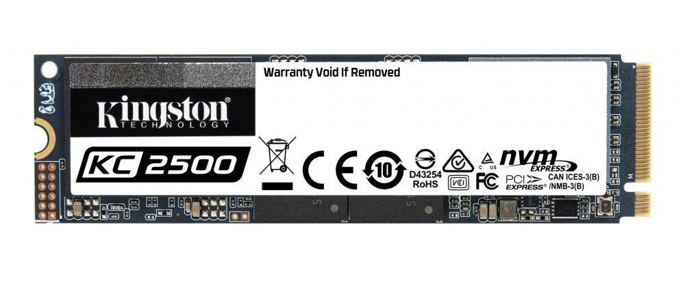 2TB KC2500 NVMe PCIe SSD