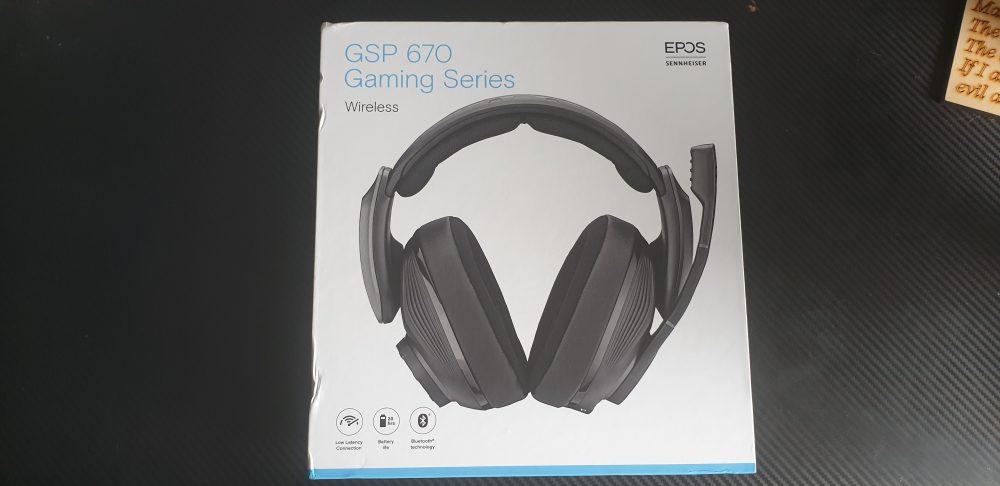 EPOS Sennheiser GSP 670 Gaming Series Wireless Headset