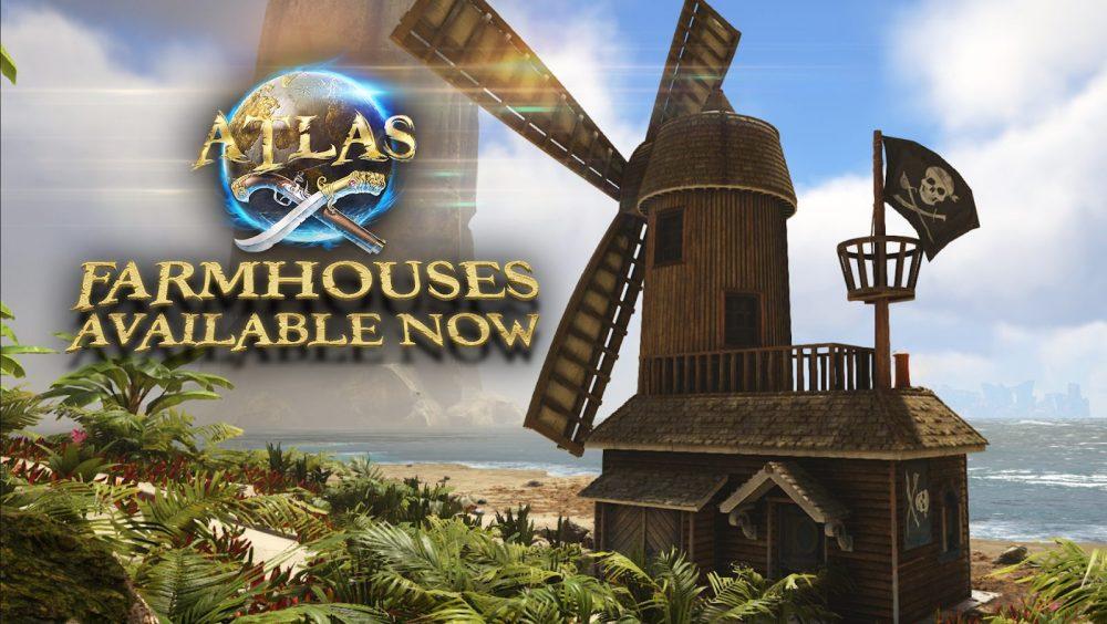 ATLAS Adds Auto-Resource Farmhouses