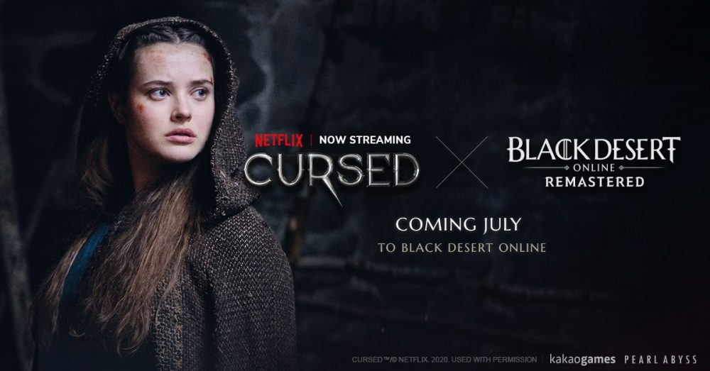 Black Desert in-game content based on Netflix Original Series, Cursed