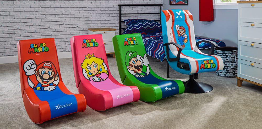 XRocker Nintendo Themed Chairs