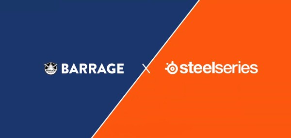 SteelSeries team up with Barrage Esports