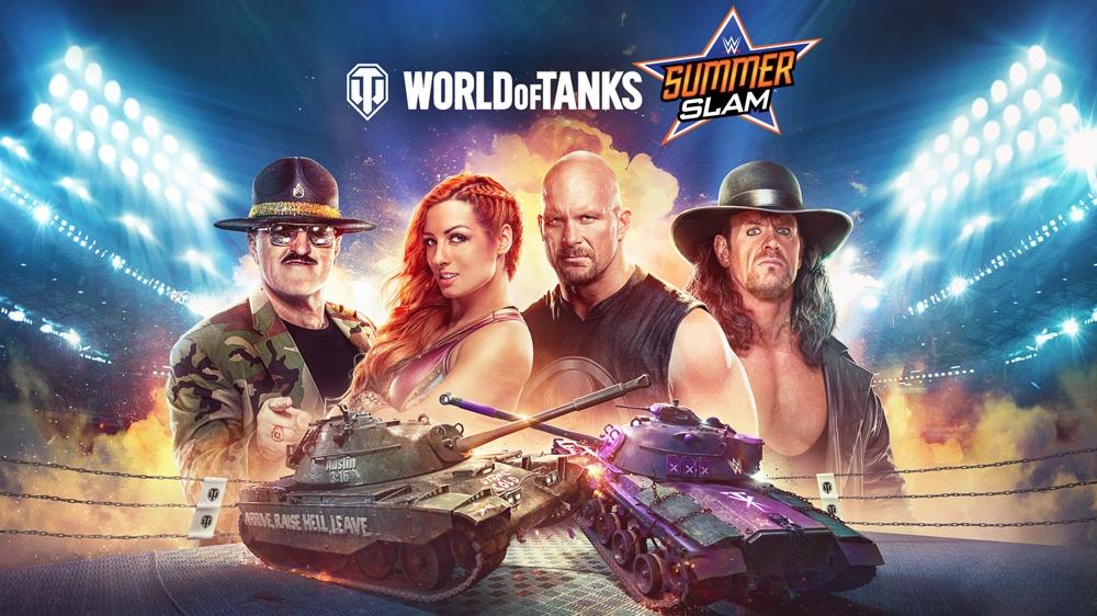 world of tank summerslam