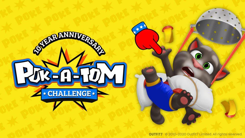 Talking Tom Celebrates 10th Birthday With A 10 Day Poke-A-Thon!