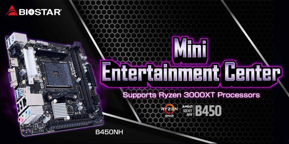 B450NH MINI-ITX MOTHERBOARD