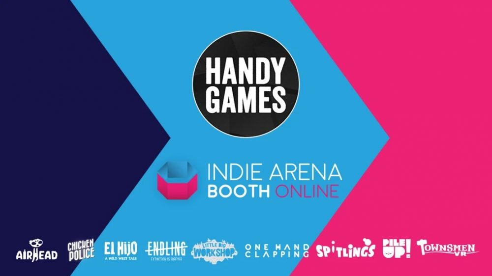 HandyGames at the Indie Arena Booth Online