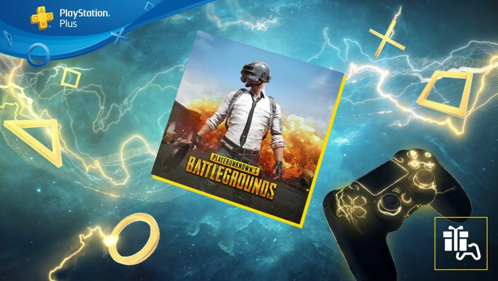 PUBG Drops into PlayStation Plus in September
