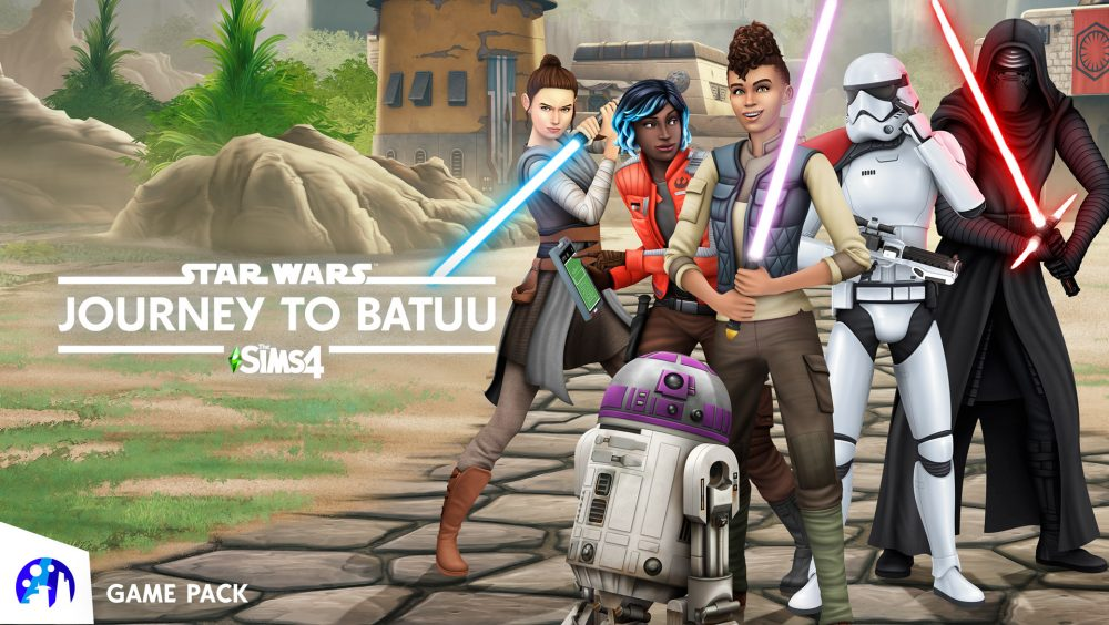 he Sims 4 ,Star Wars: Journey to Batuu