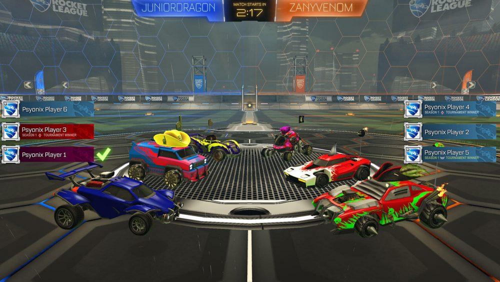 Rocket League Revamped Tournaments