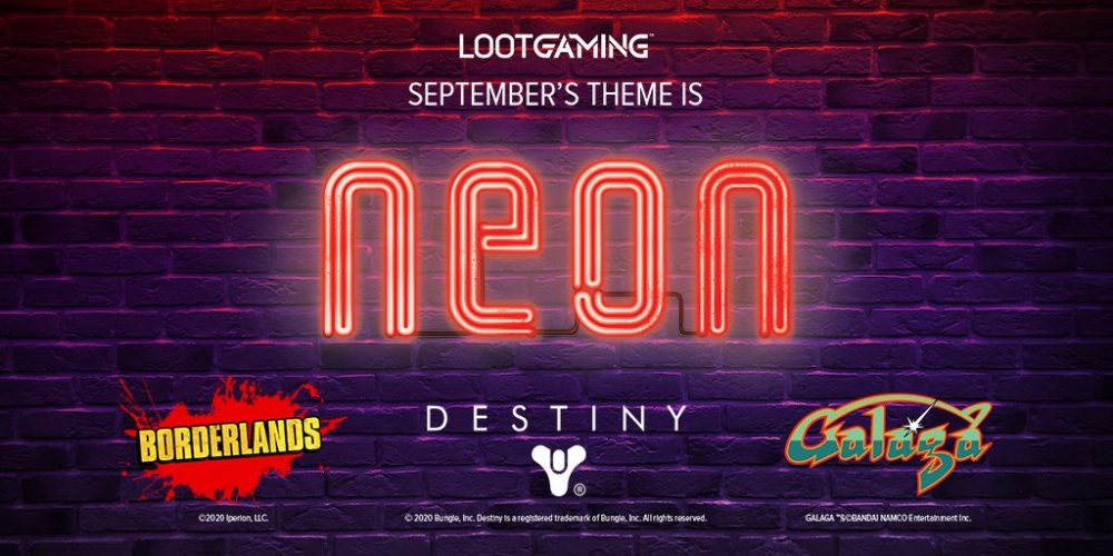 Neon' themed Gaming crate