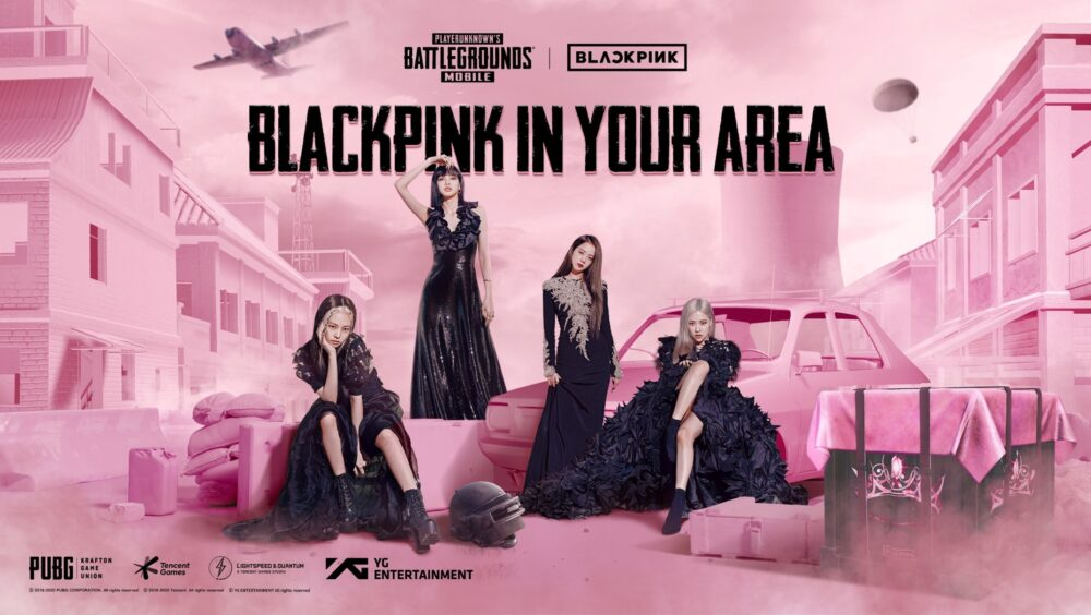 BLACKPINK x PUBG MOBILE Banner