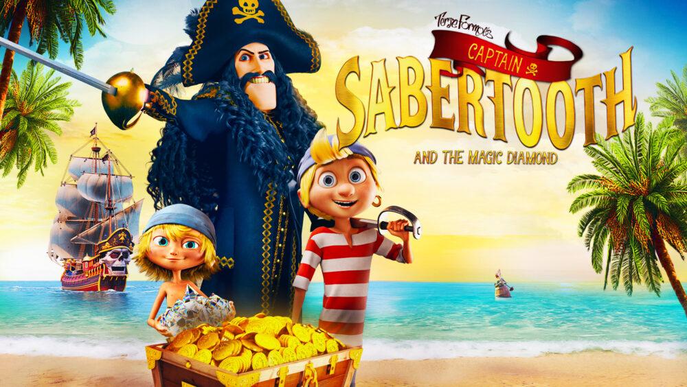 Captain Sabertooth and the Magic Diamond