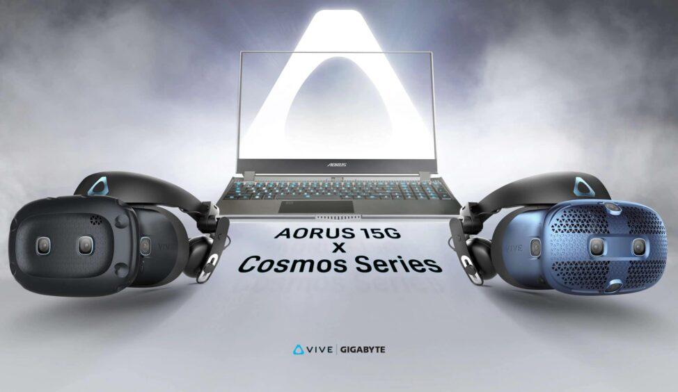 Cosmos Series x AORUS 15G bundle