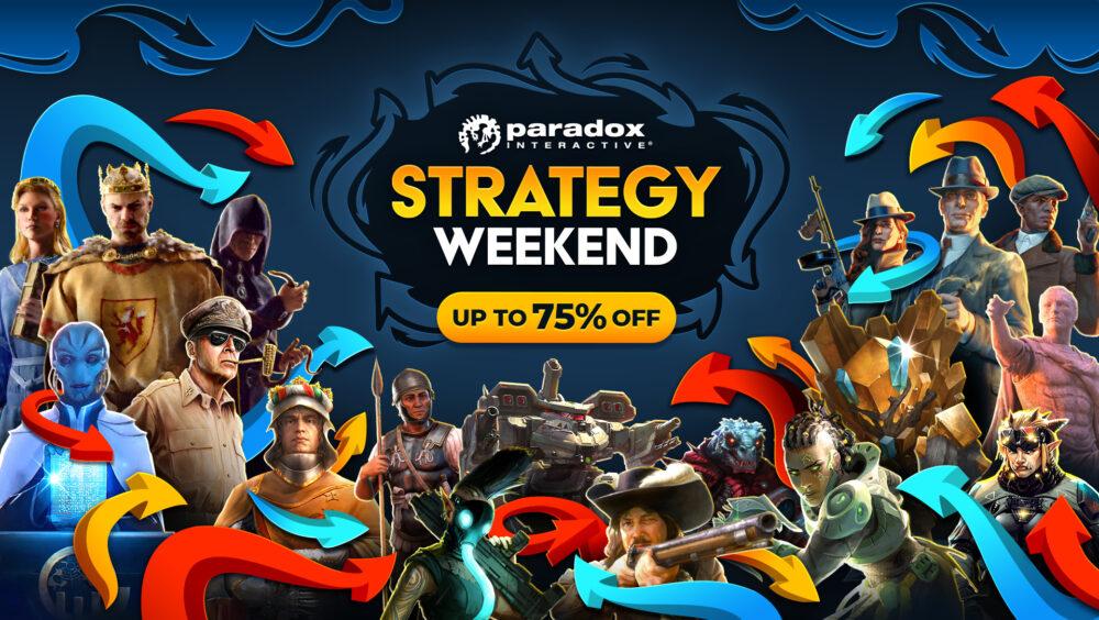 Paradox's biggest Steam Strategy Weekend sale