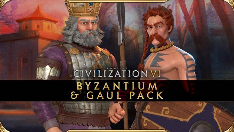 The Byzantium & Gaul Pack Civilization VI