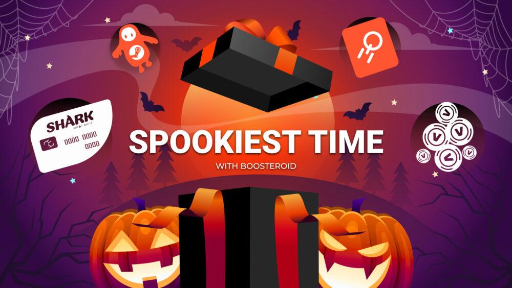 Halloween presents , Boosteroid