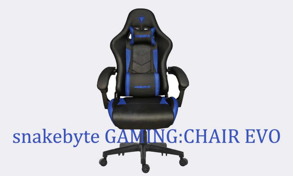 snakebyte Introduces the GAMINGCHAIR EVO