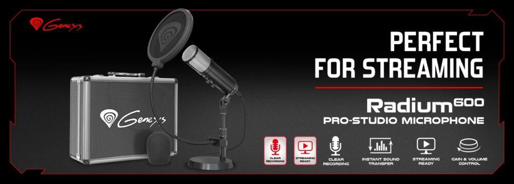 Genesis Radium 600 Studio Microphone