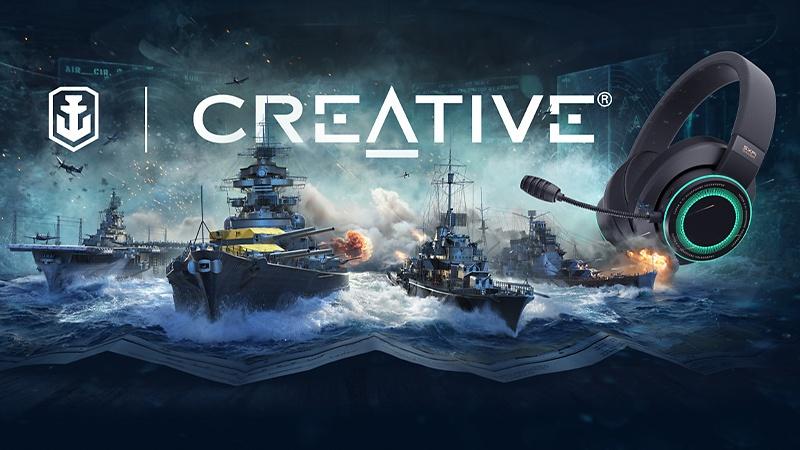World of Warships X Creative Labs
