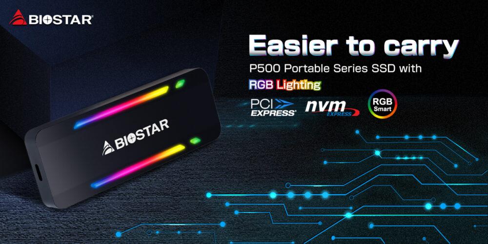 biostar P500 Portable series SSD