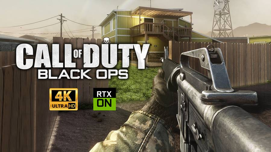 Call of Duty Black Ops 1 4K Graphic Mod with RTX Shader