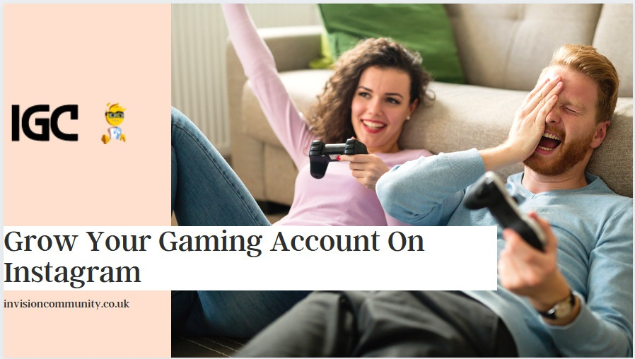 Instagram Gaming Profile