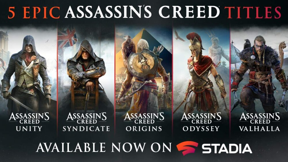 Assassins creed Stadia