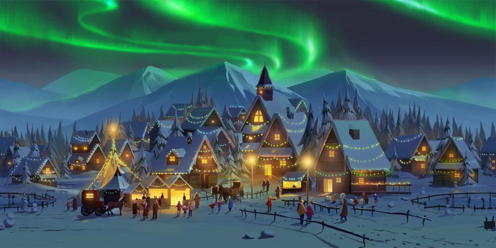 Winter Wunderland Concept Art