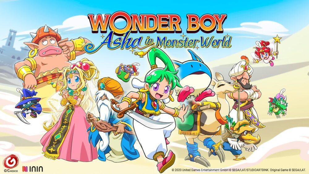 Wonder Boy Asha in Monster World