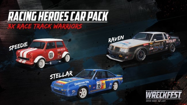 Wreckfest Racing Heroes Car Pack