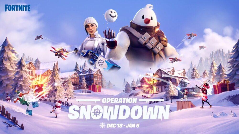 fortnite operation snowdown