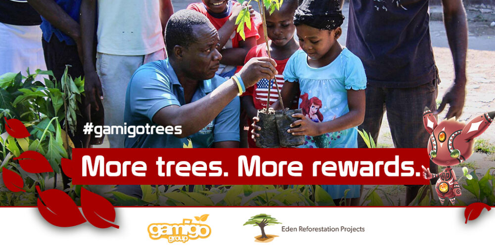 gamigo and Eden Reforestation Projects join together