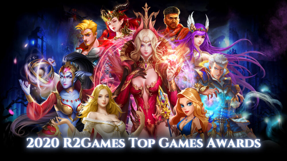 Check out the Winners in the R2Games Top Games Awards