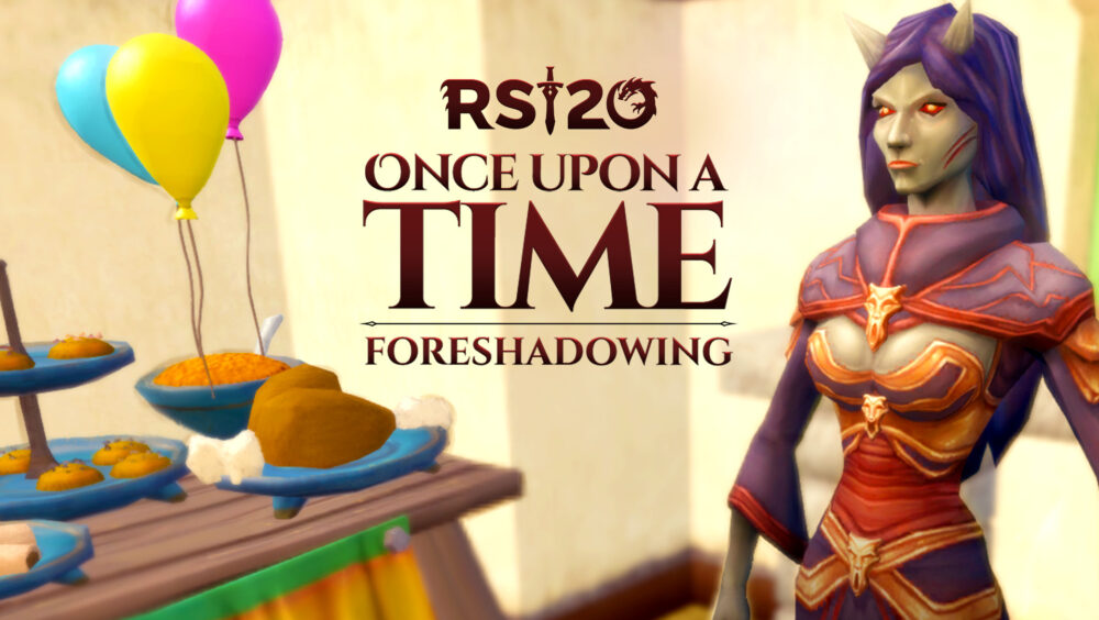 RuneScape's year-long 20th Anniversary storyline – 'Once Upon a Time'