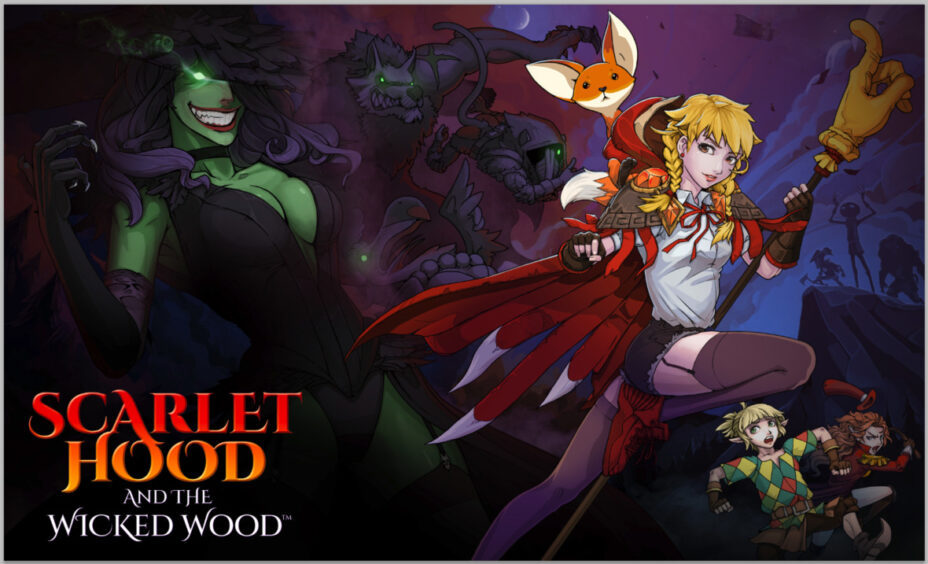Scarlet Hood and the Wicked Wood