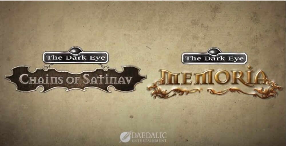 The Dark Eye classic adventures Chains of Satinav and Memoria