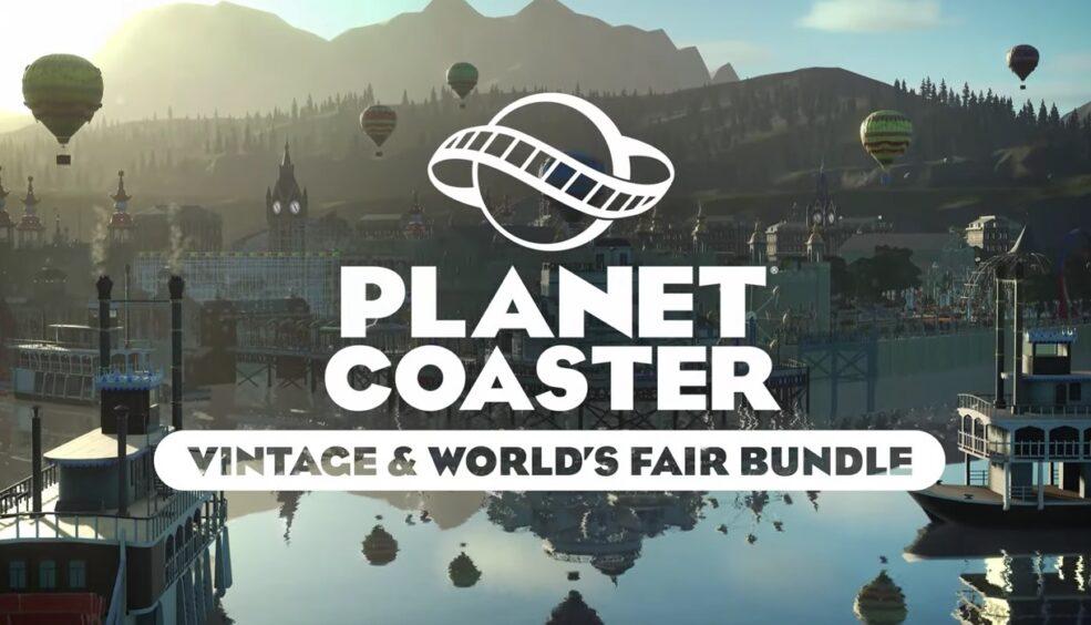 Planet Coaster Console Edition vintage