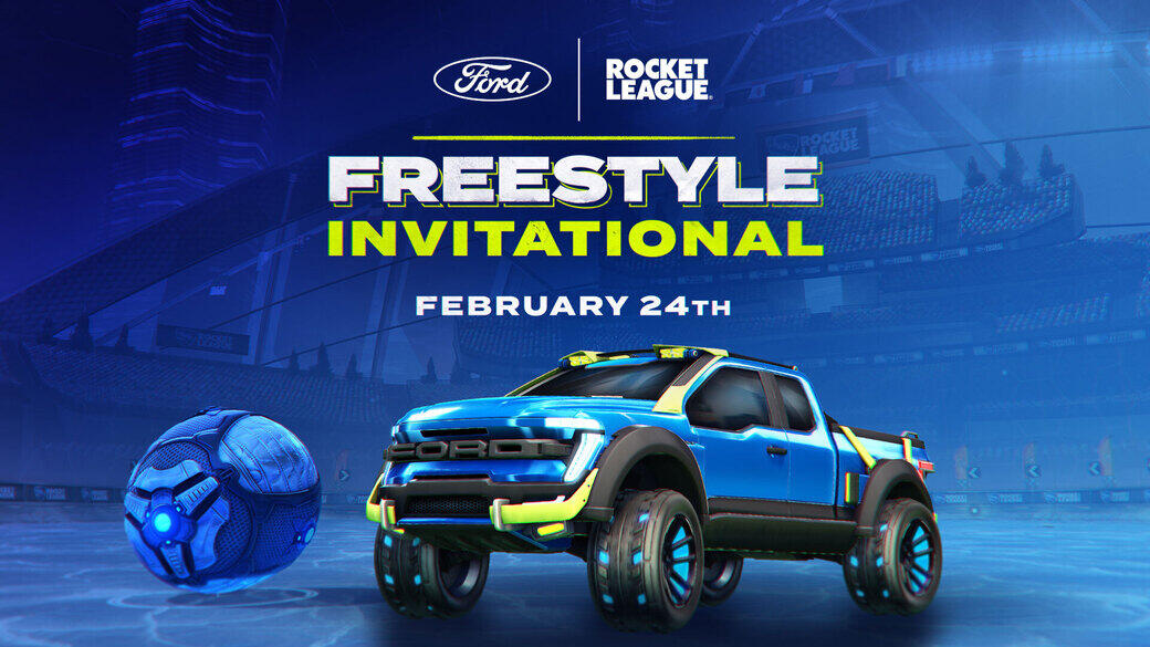 Ford + Rocket League Freestyle Invitational
